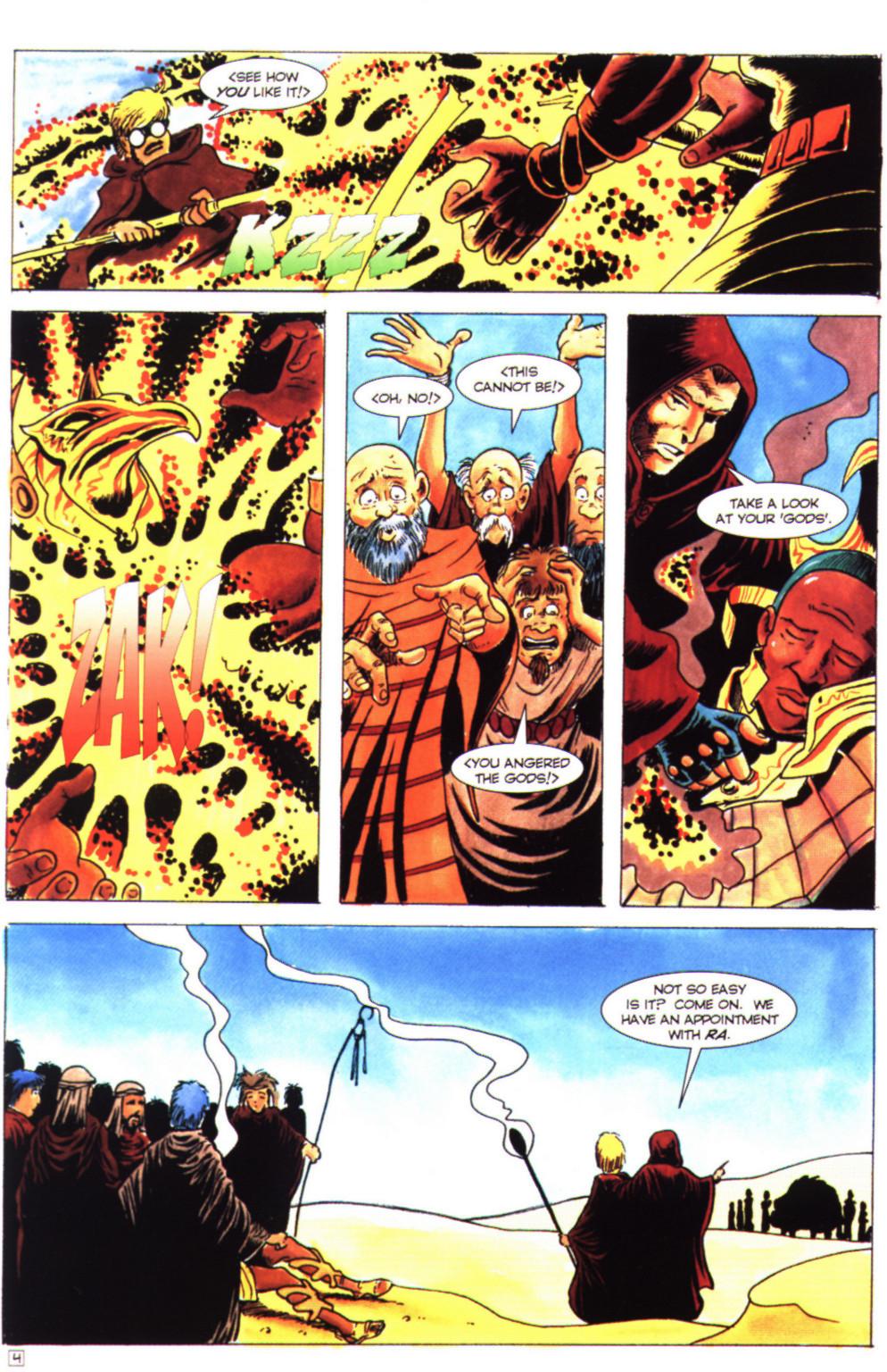 Read online Stargate comic -  Issue #4 - 6