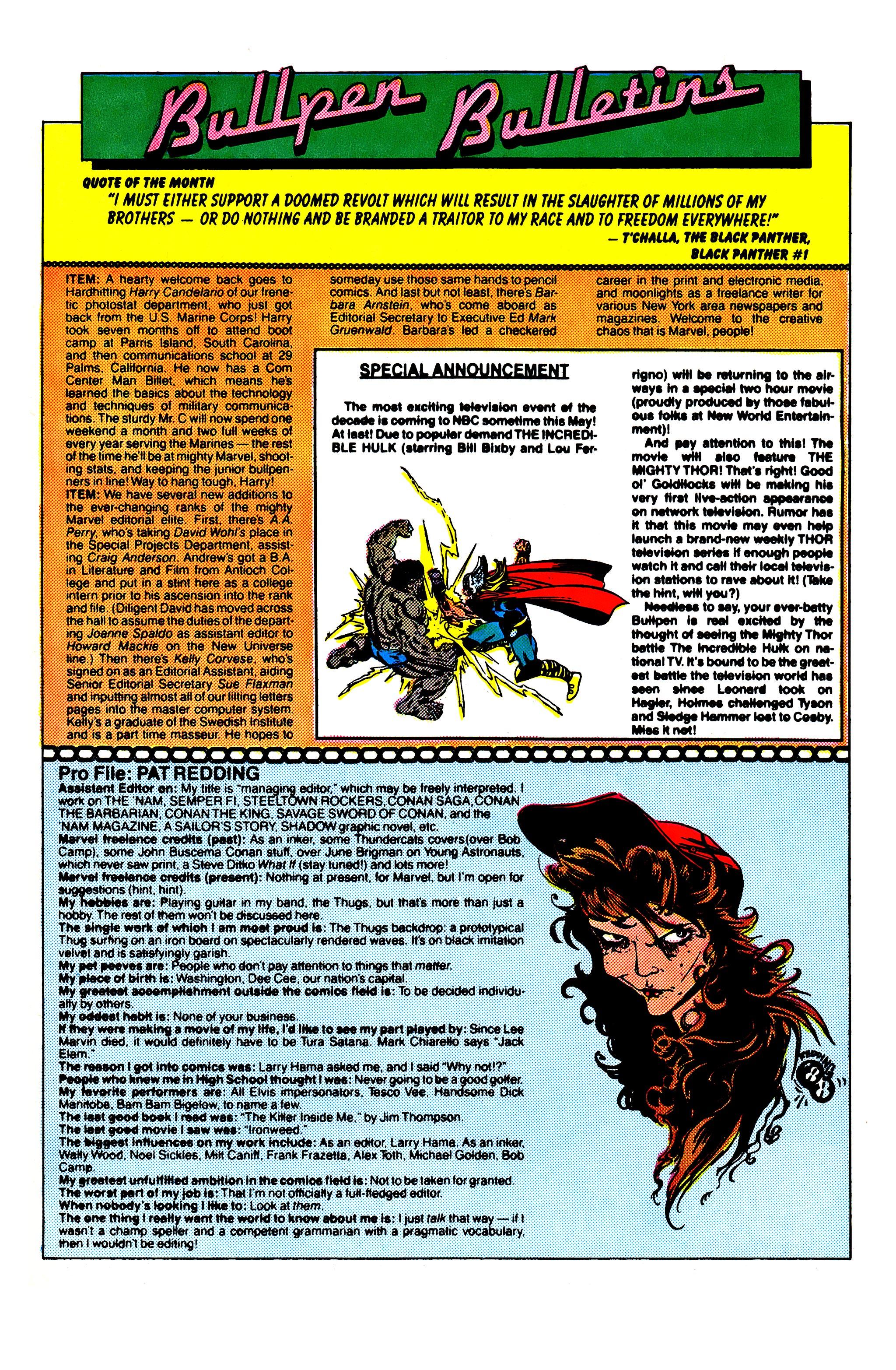 Read online Uncanny X-Men (1963) comic -  Issue #231 - 21