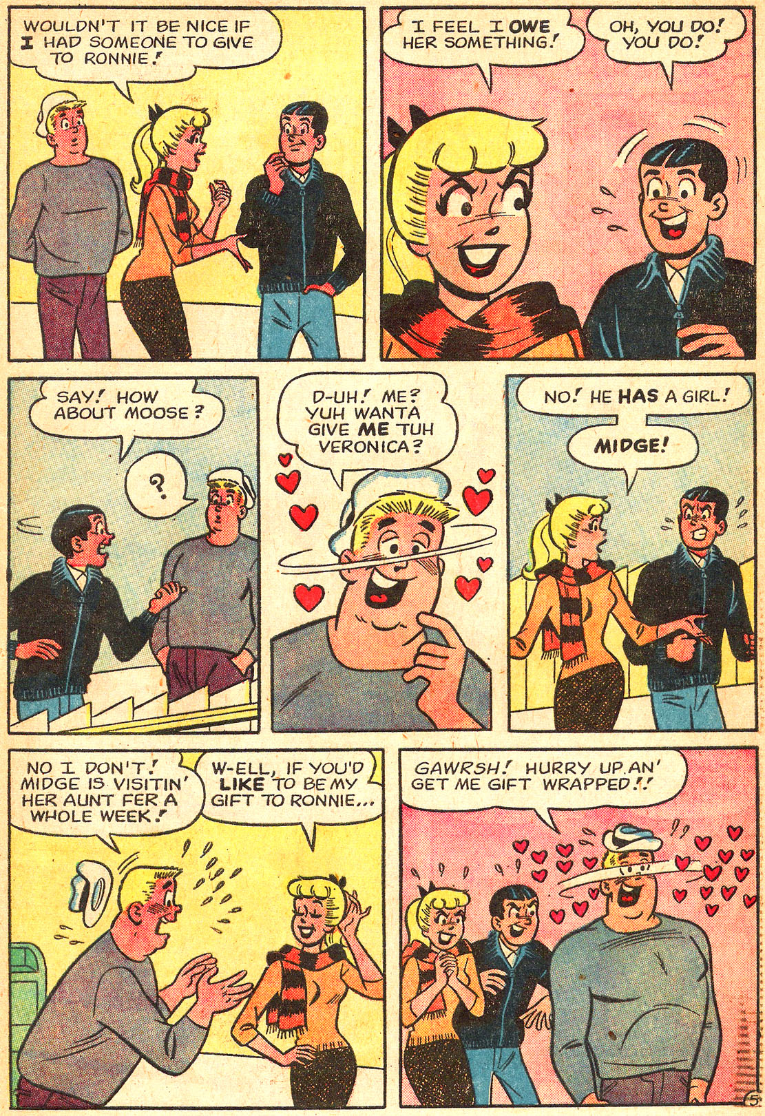Read online Archie's Girls Betty and Veronica comic -  Issue #87 - 17