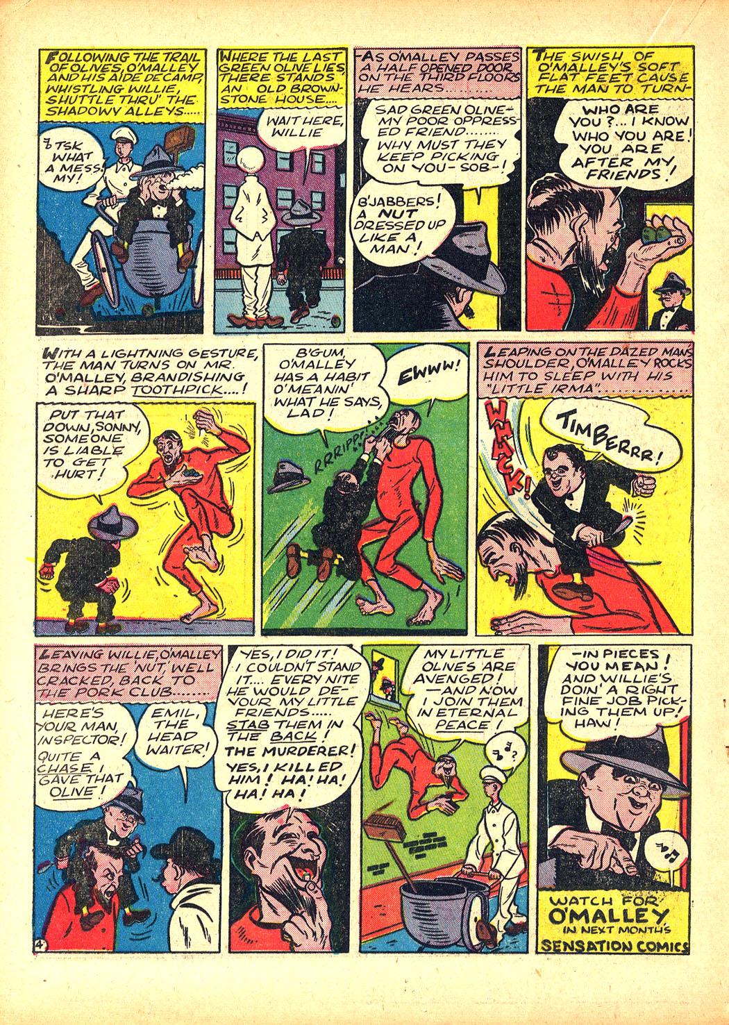 Read online Sensation (Mystery) Comics comic -  Issue #5 - 36