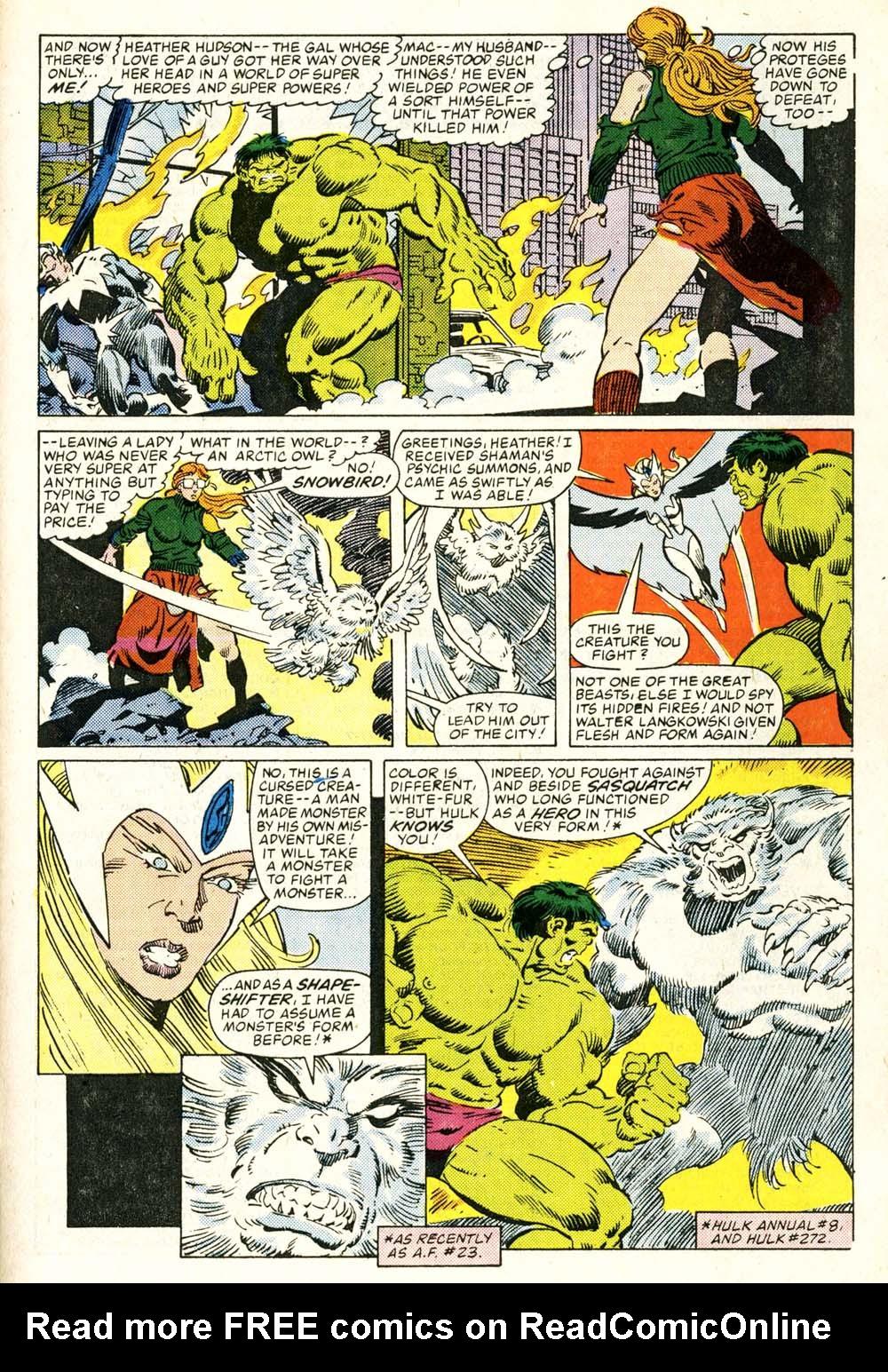 Read online Alpha Flight (1983) comic -  Issue #29 - 18