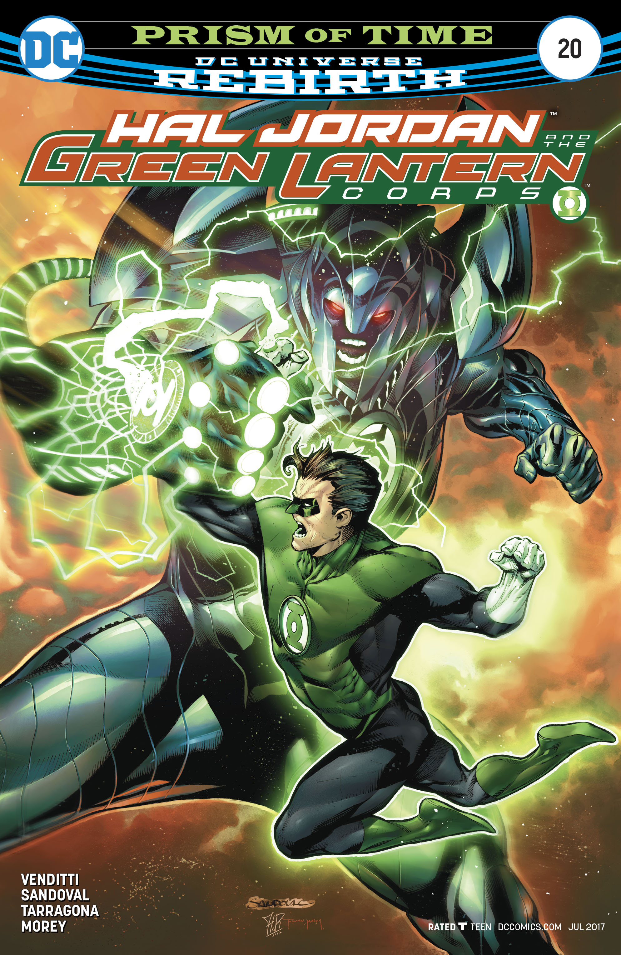 Read online Hal Jordan And The Green Lantern Corps comic -  Issue #20 - 1