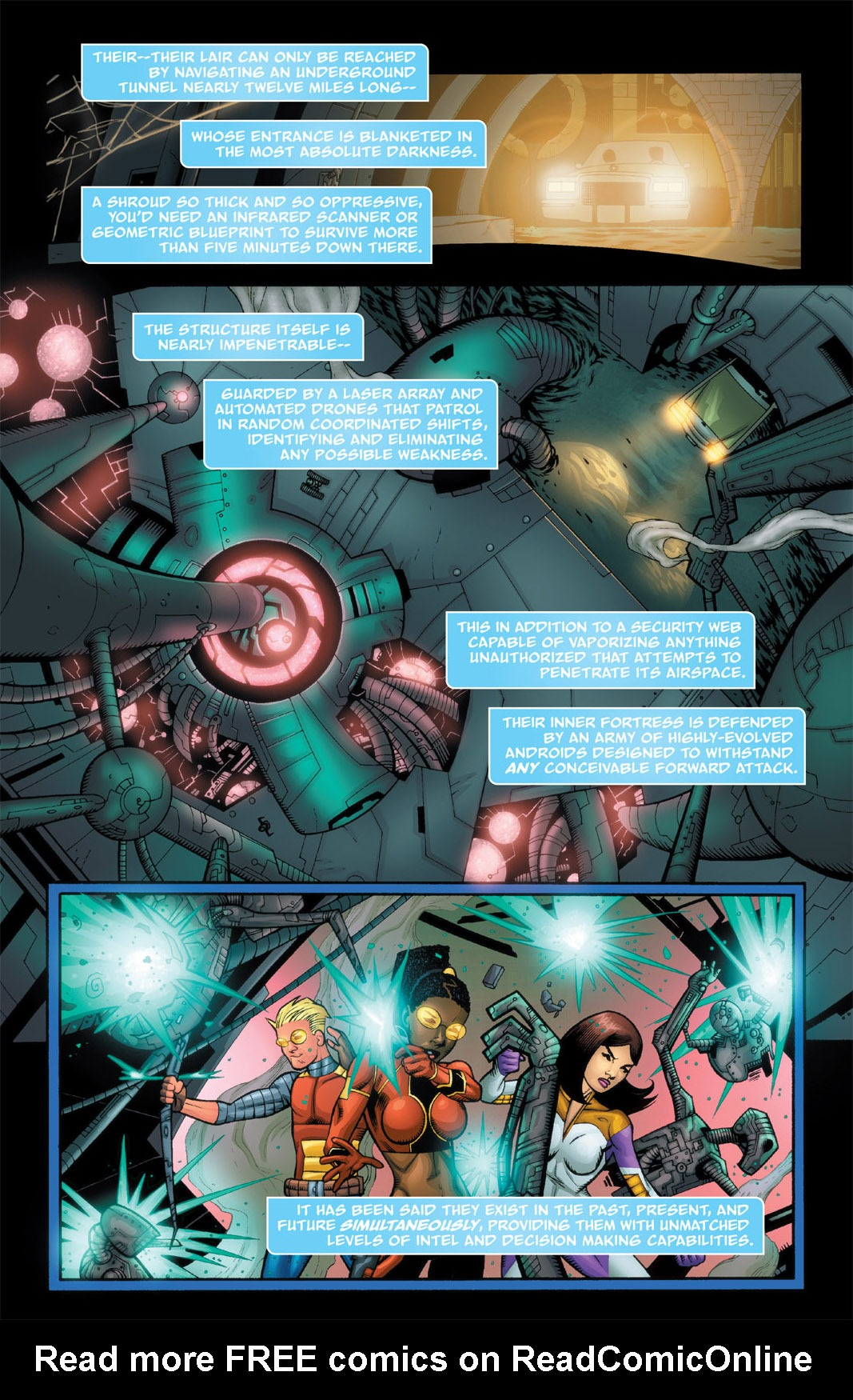 Read online The Many Adventures of Miranda Mercury: Time Runs Out comic -  Issue # TPB - 87