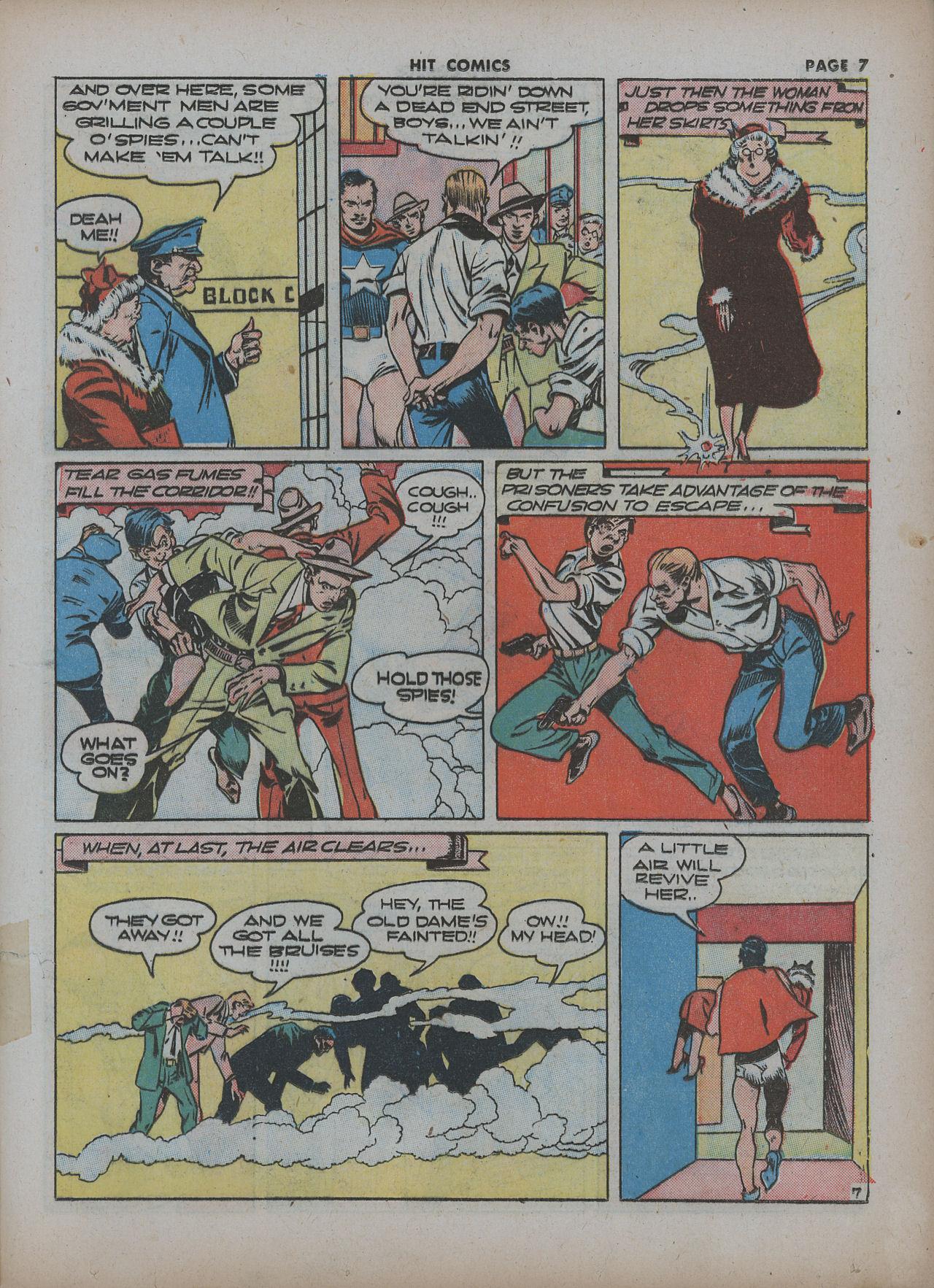 Read online Hit Comics comic -  Issue #22 - 9