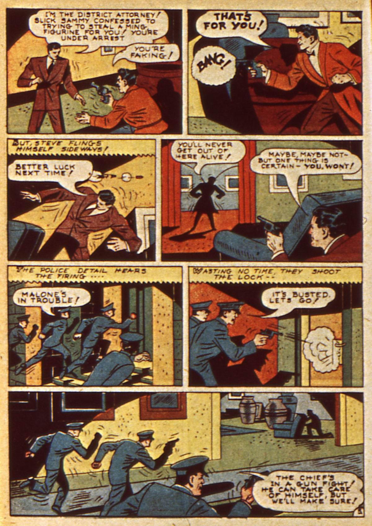 Read online Detective Comics (1937) comic -  Issue #47 - 48