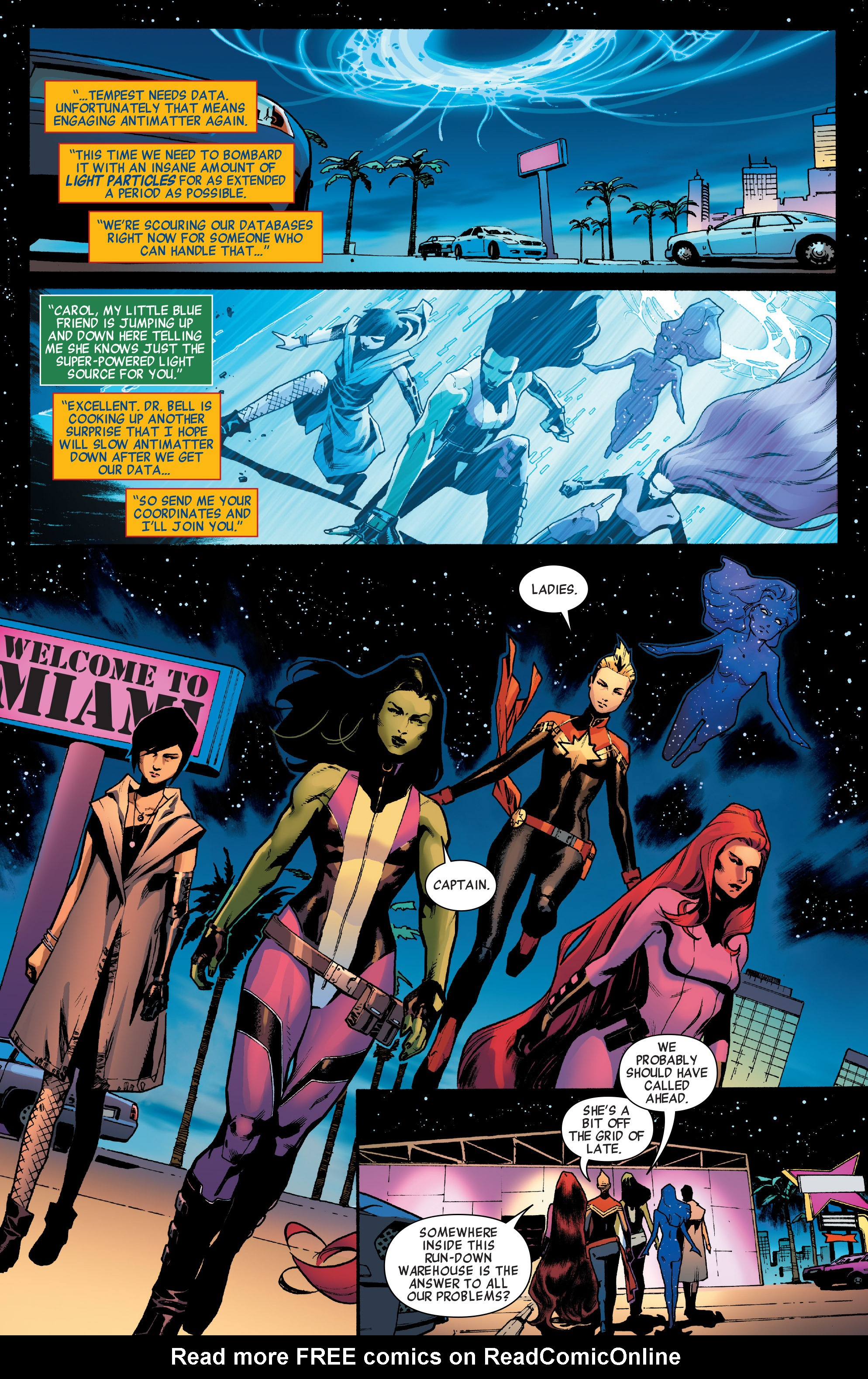 Read online A-Force (2016) comic -  Issue #2 - 19