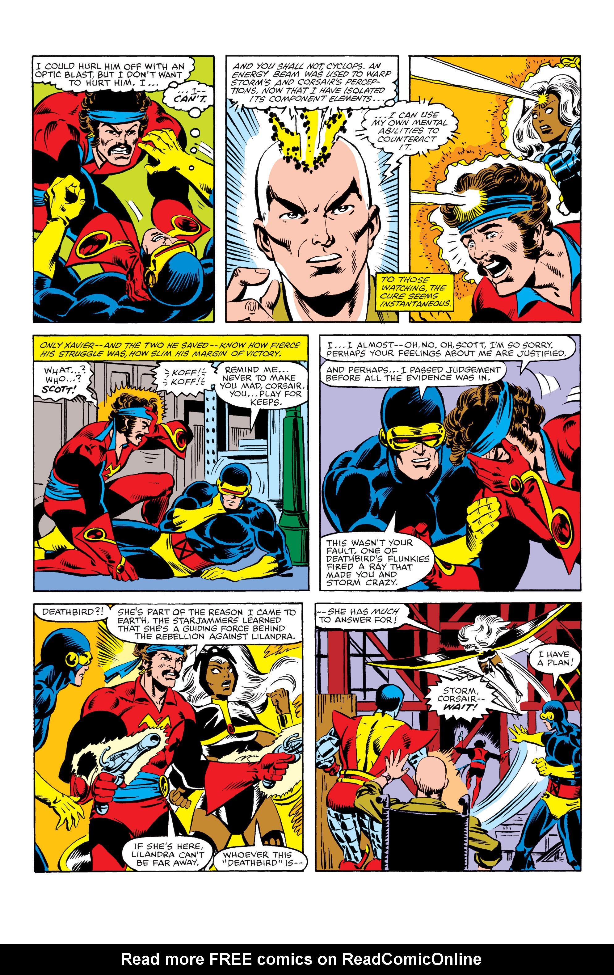 Read online Uncanny X-Men (1963) comic -  Issue #155 - 17