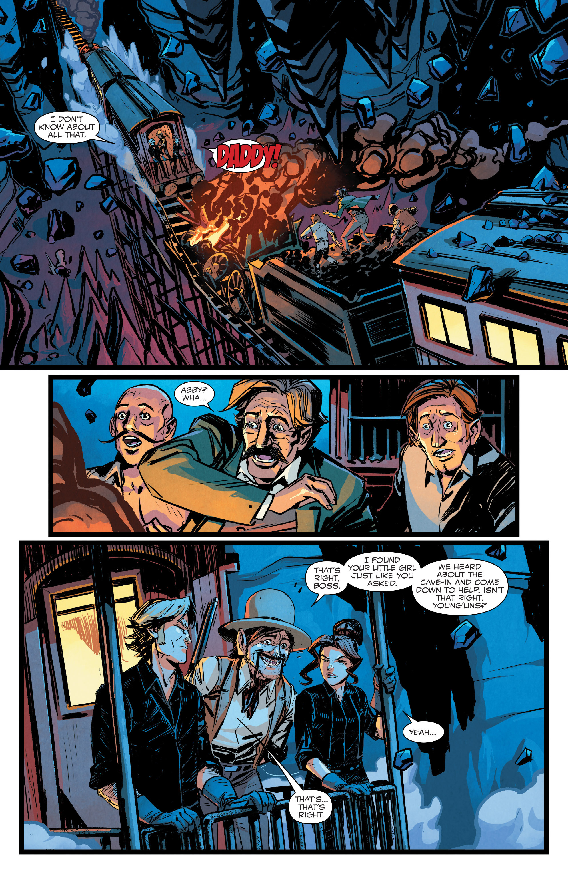 Read online Big Thunder Mountain Railroad comic -  Issue #5 - 10