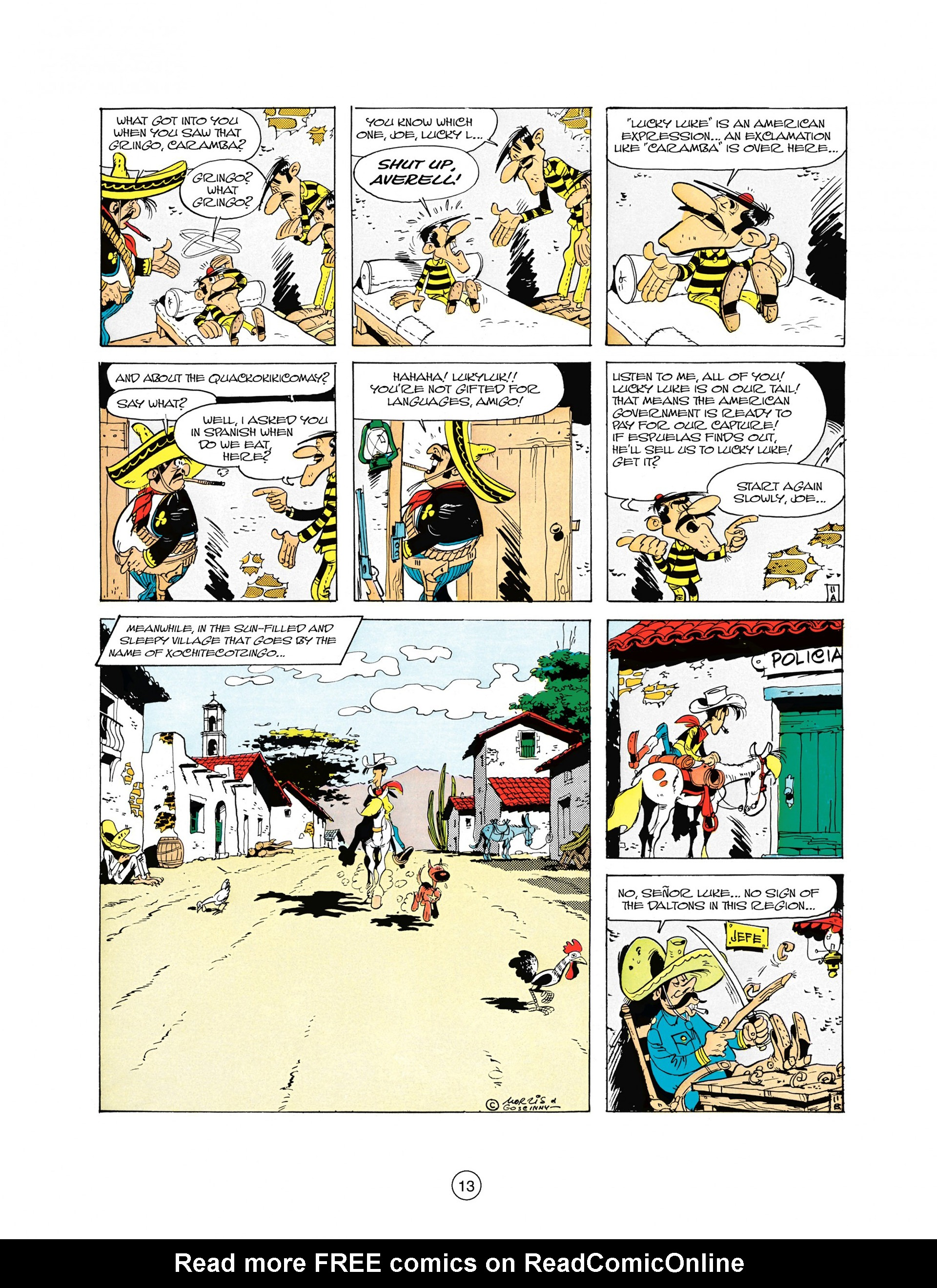 Read online A Lucky Luke Adventure comic -  Issue #10 - 13