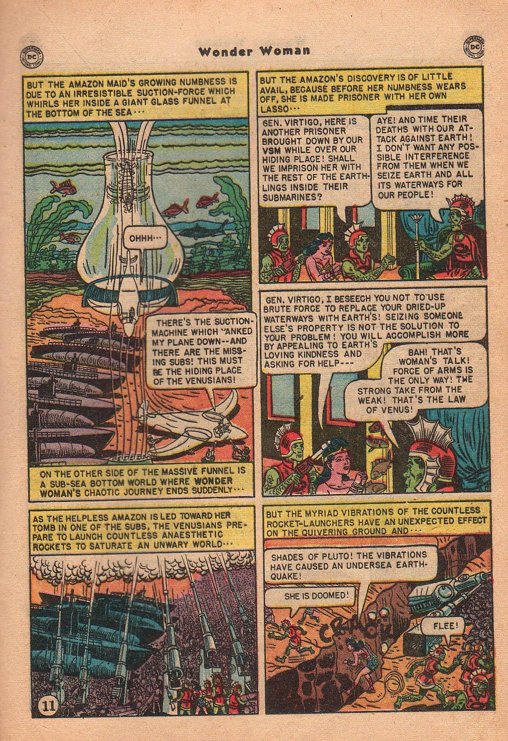 Read online Wonder Woman (1942) comic -  Issue #42 - 30