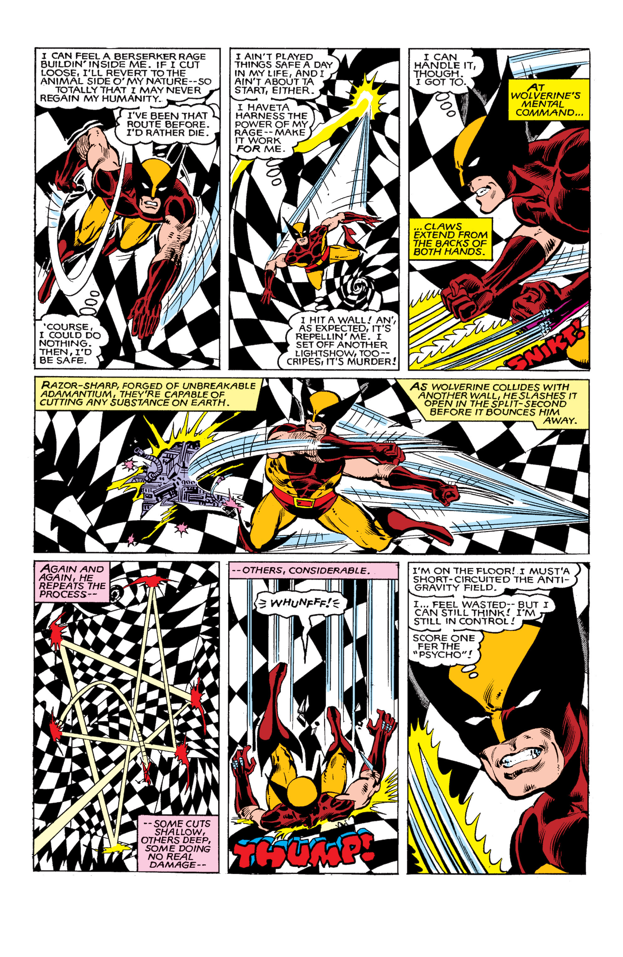 Read online Uncanny X-Men (1963) comic -  Issue #147 - 13