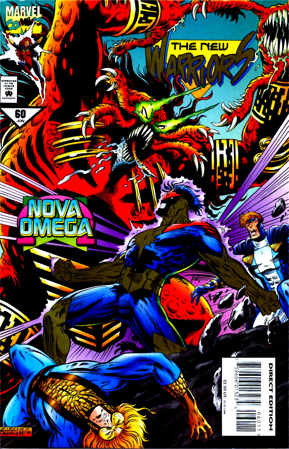 The New Warriors Issue #60 #64 - English 1