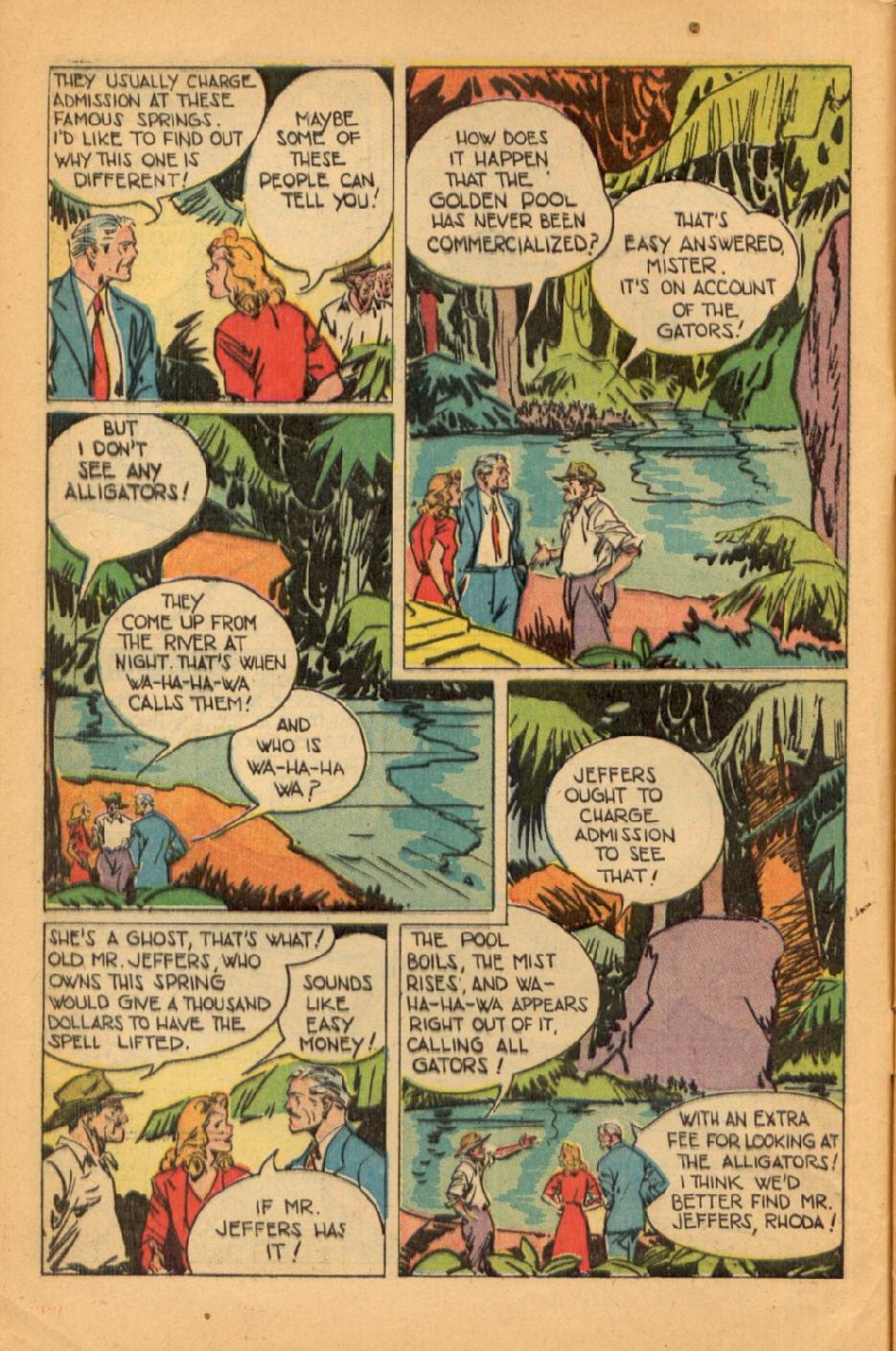 Read online Super-Magician Comics comic -  Issue #45 - 6