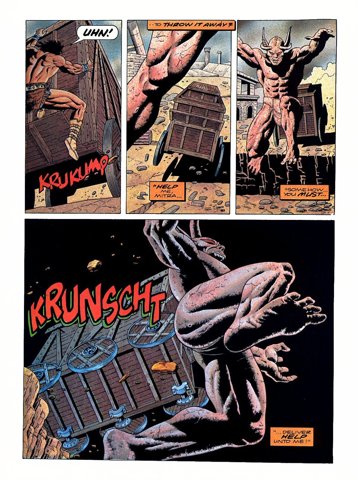 Read online Marvel Graphic Novel: Conan the Barbarian: The Skull of Set comic -  Issue # Full - 53