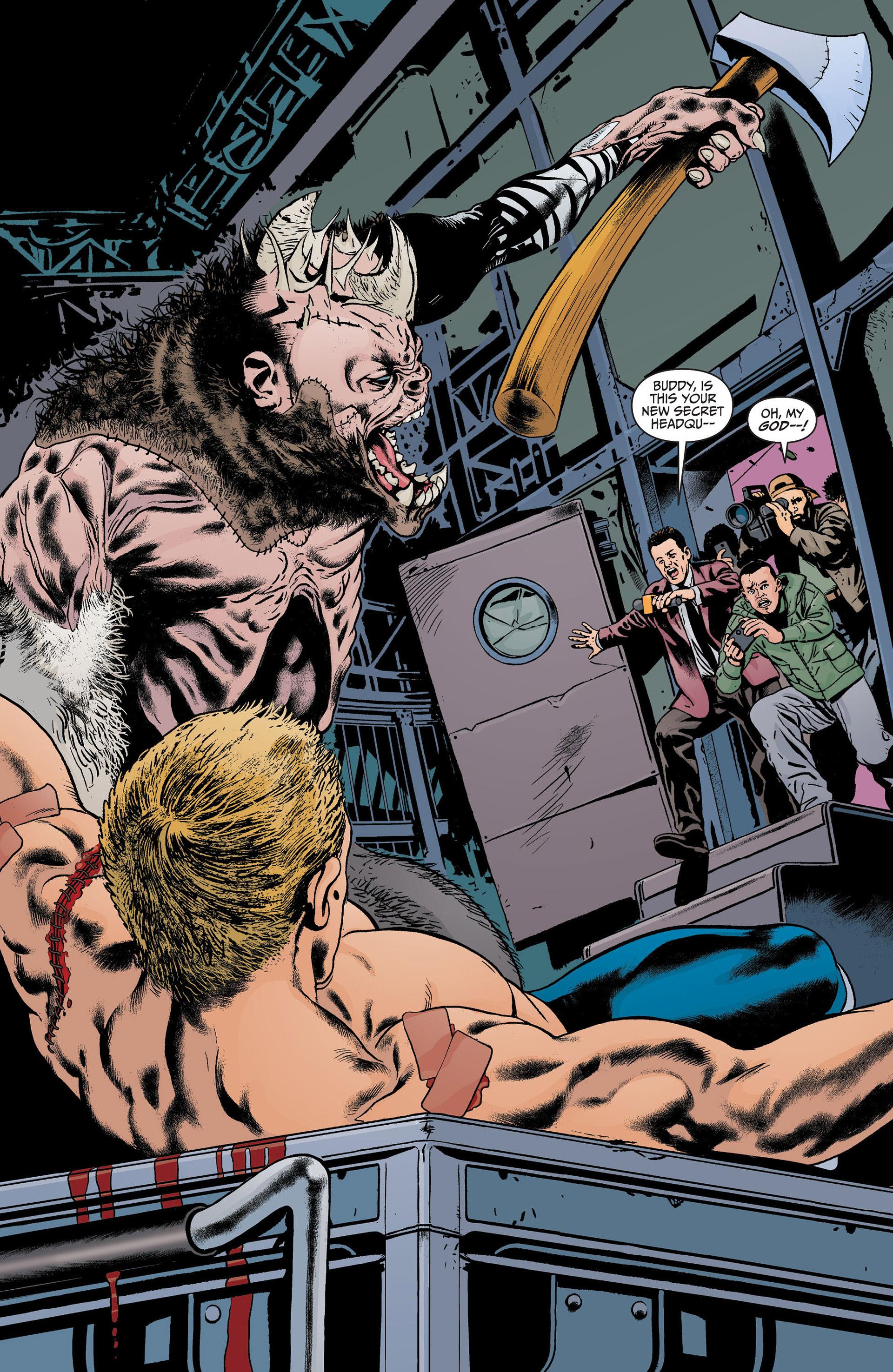 Read online Animal Man (2011) comic -  Issue #22 - 14