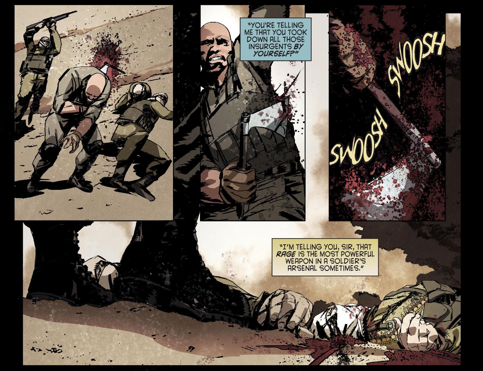 Read online Arrow [II] comic -  Issue #4 - 16