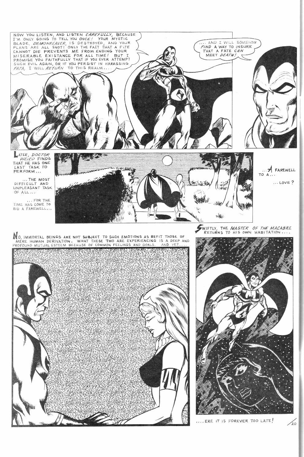 Read online Dr. Weird Special comic -  Issue # Full - 62