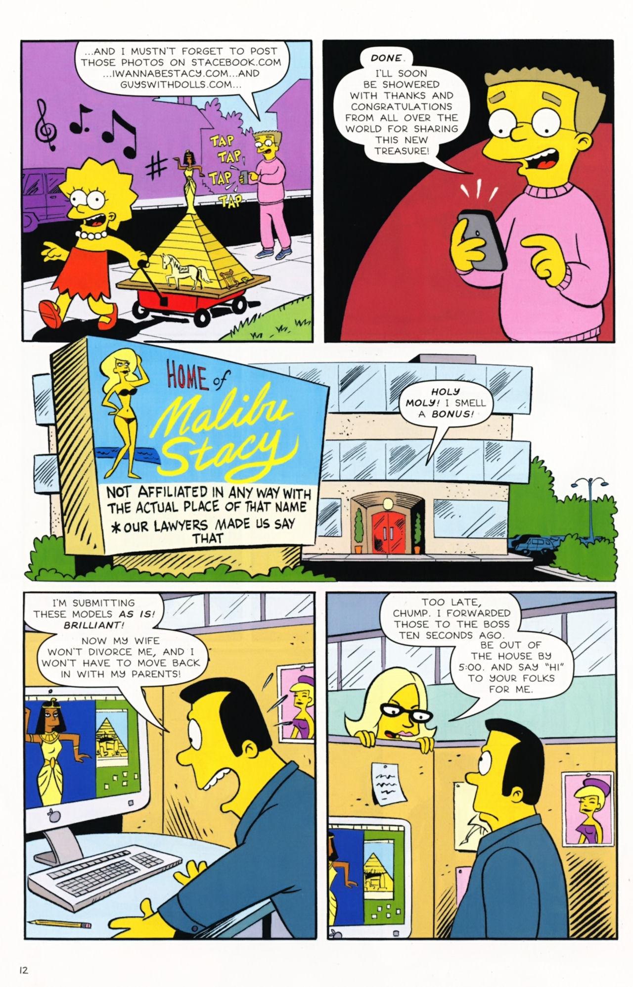 Read online Simpsons Comics Presents Bart Simpson comic -  Issue #57 - 14