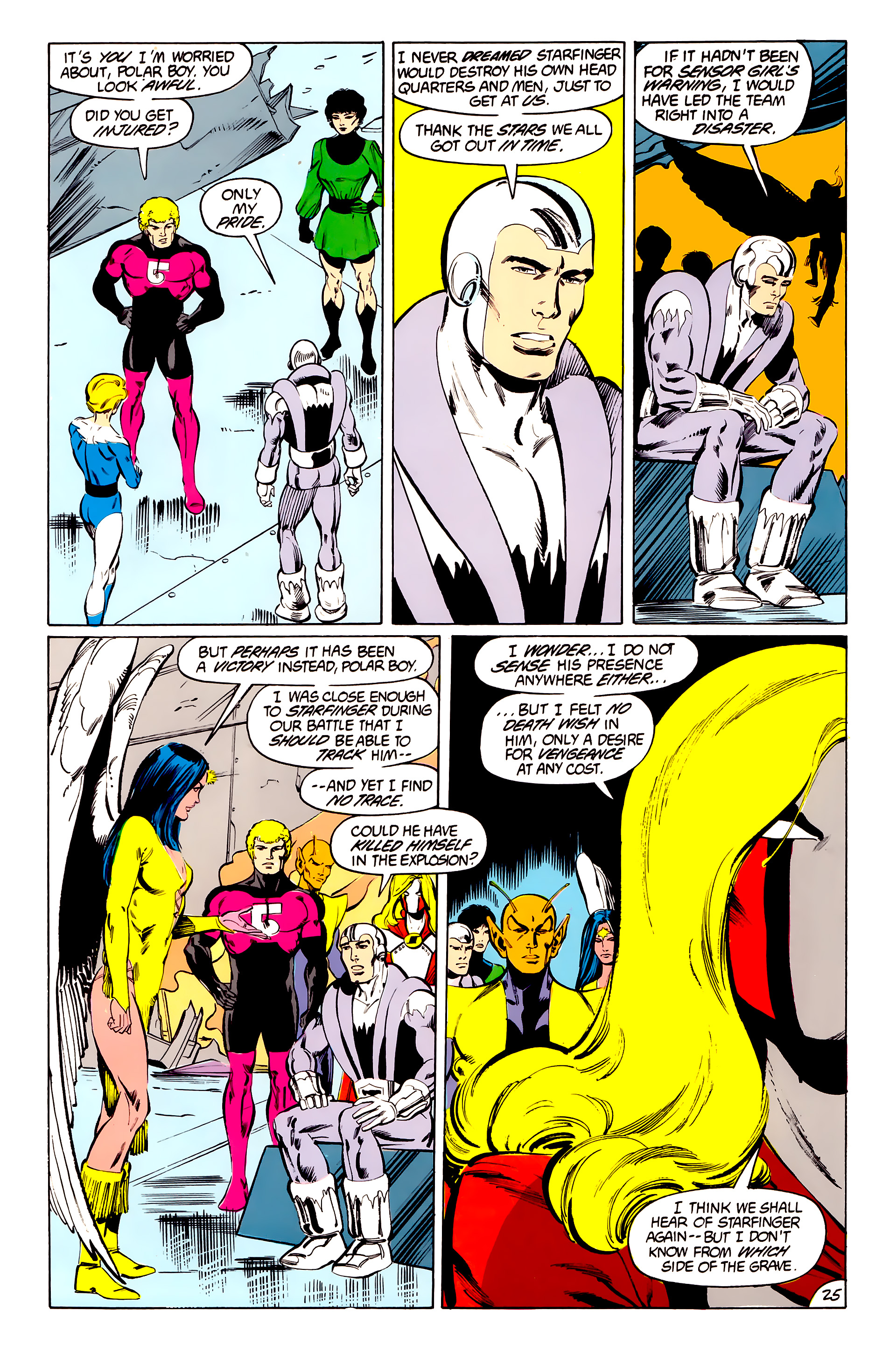 Legion of Super-Heroes (1984) 41 Page 25