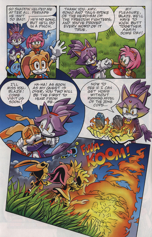 Read online Sonic Universe comic -  Issue #24 - 22