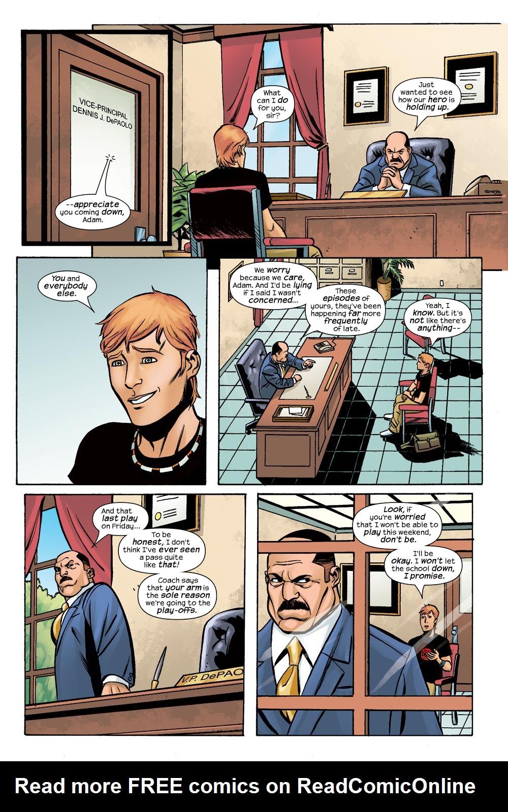 Read online Machine Teen comic -  Issue #1 - 16