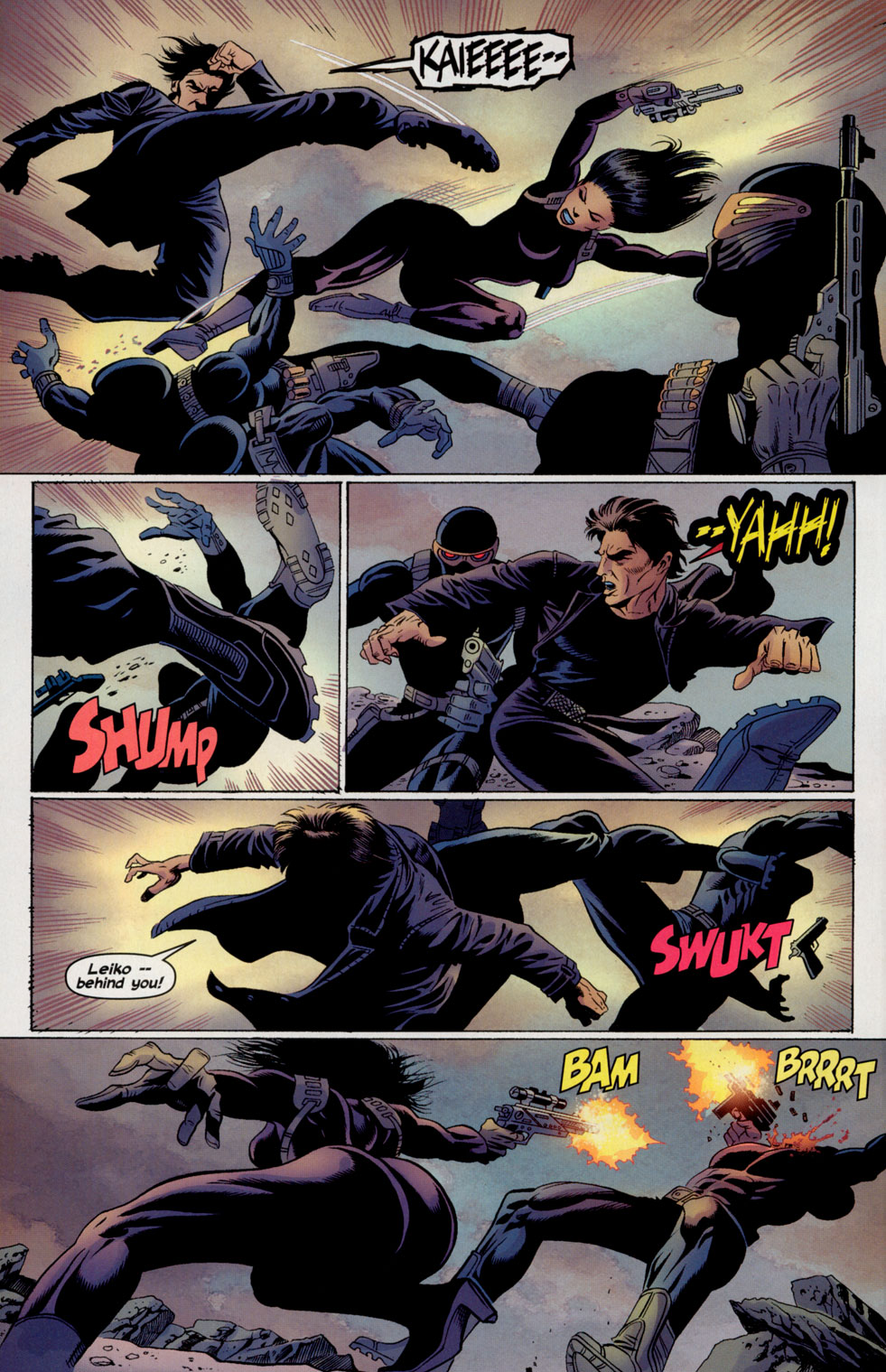 Read online Shang-Chi: Master of Kung Fu comic -  Issue #4 - 17