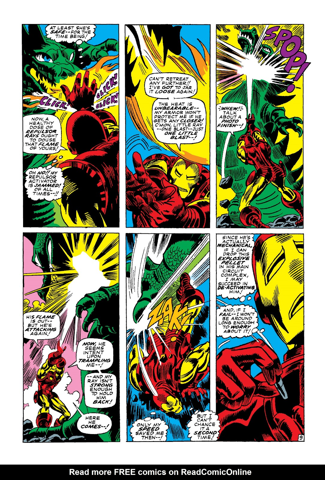 Read online Marvel Masterworks: The Invincible Iron Man comic -  Issue # TPB 4 (Part 1) - 67