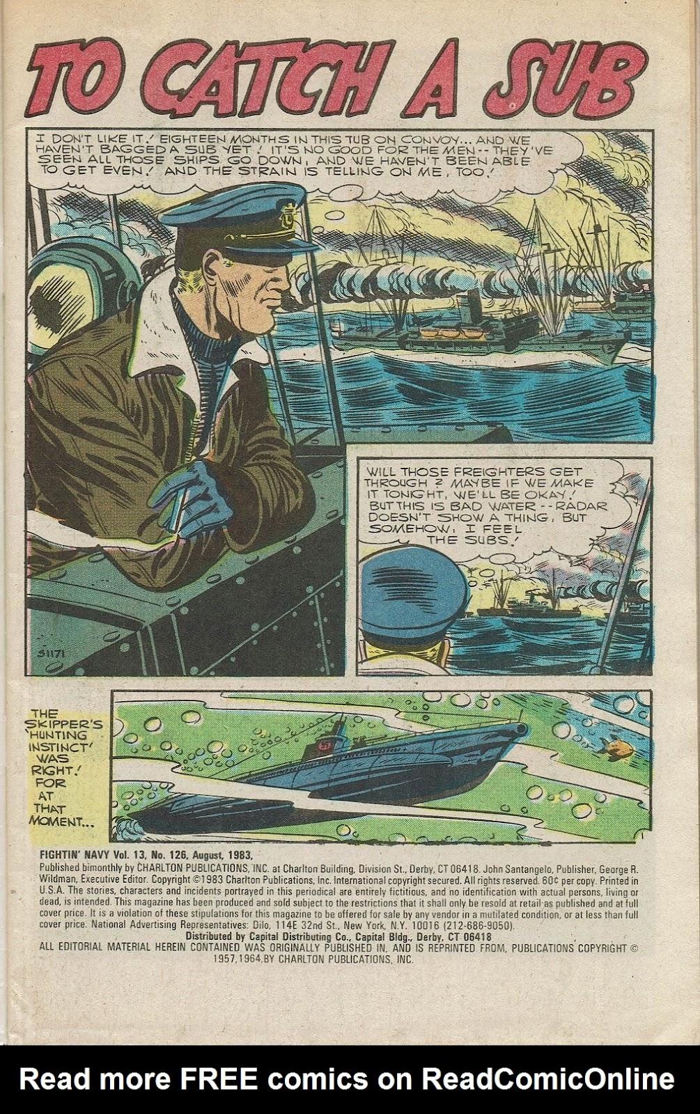 Read online Fightin' Navy comic -  Issue #126 - 3