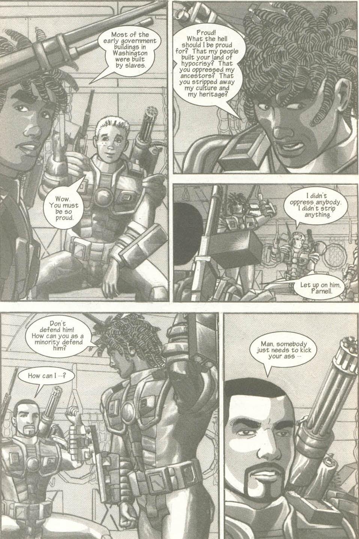Read online U.S. War Machine comic -  Issue #6 - 6
