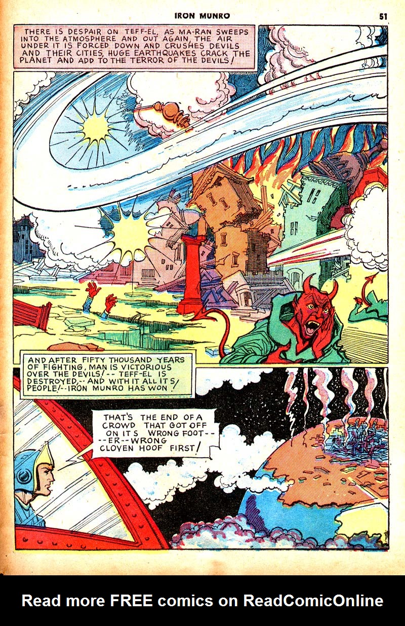 Read online Shadow Comics comic -  Issue #7 - 44
