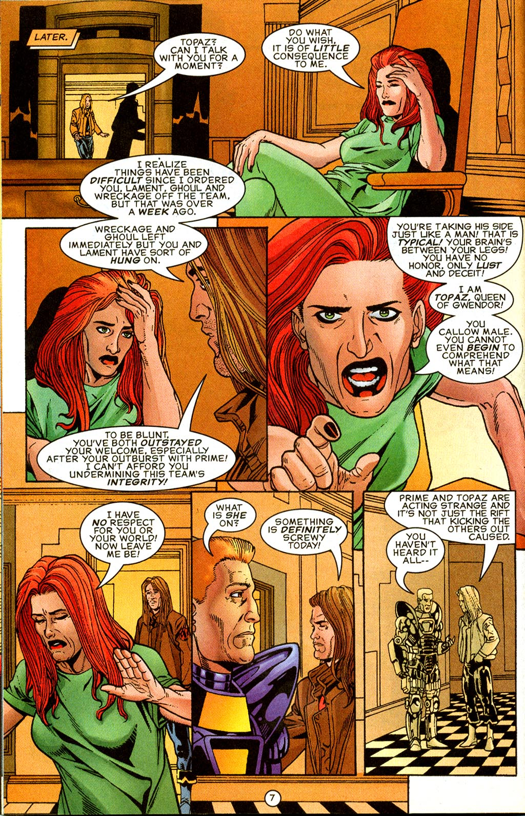 Read online UltraForce (1995) comic -  Issue #8 - 8