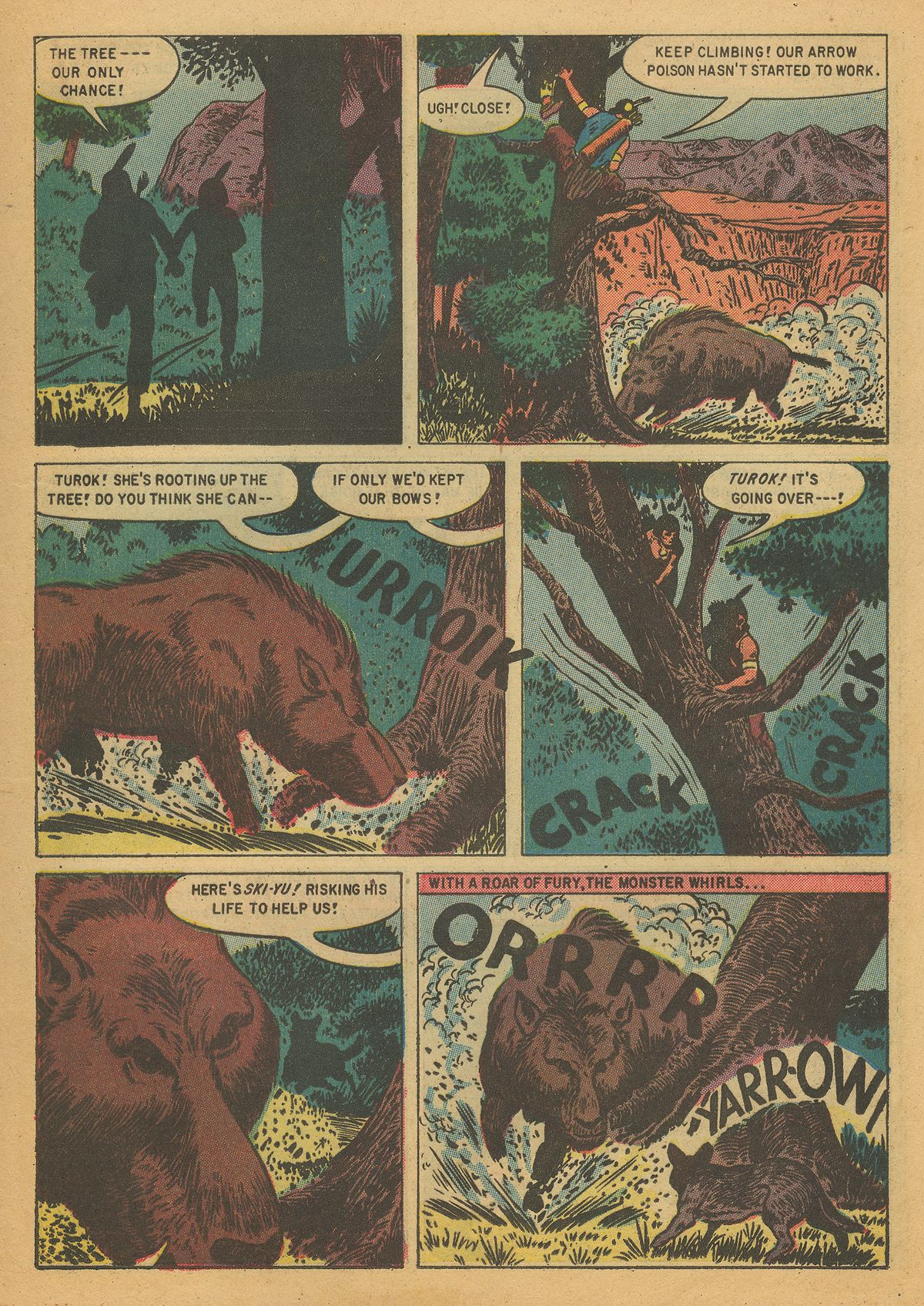Read online Turok, Son of Stone comic -  Issue #7 - 13