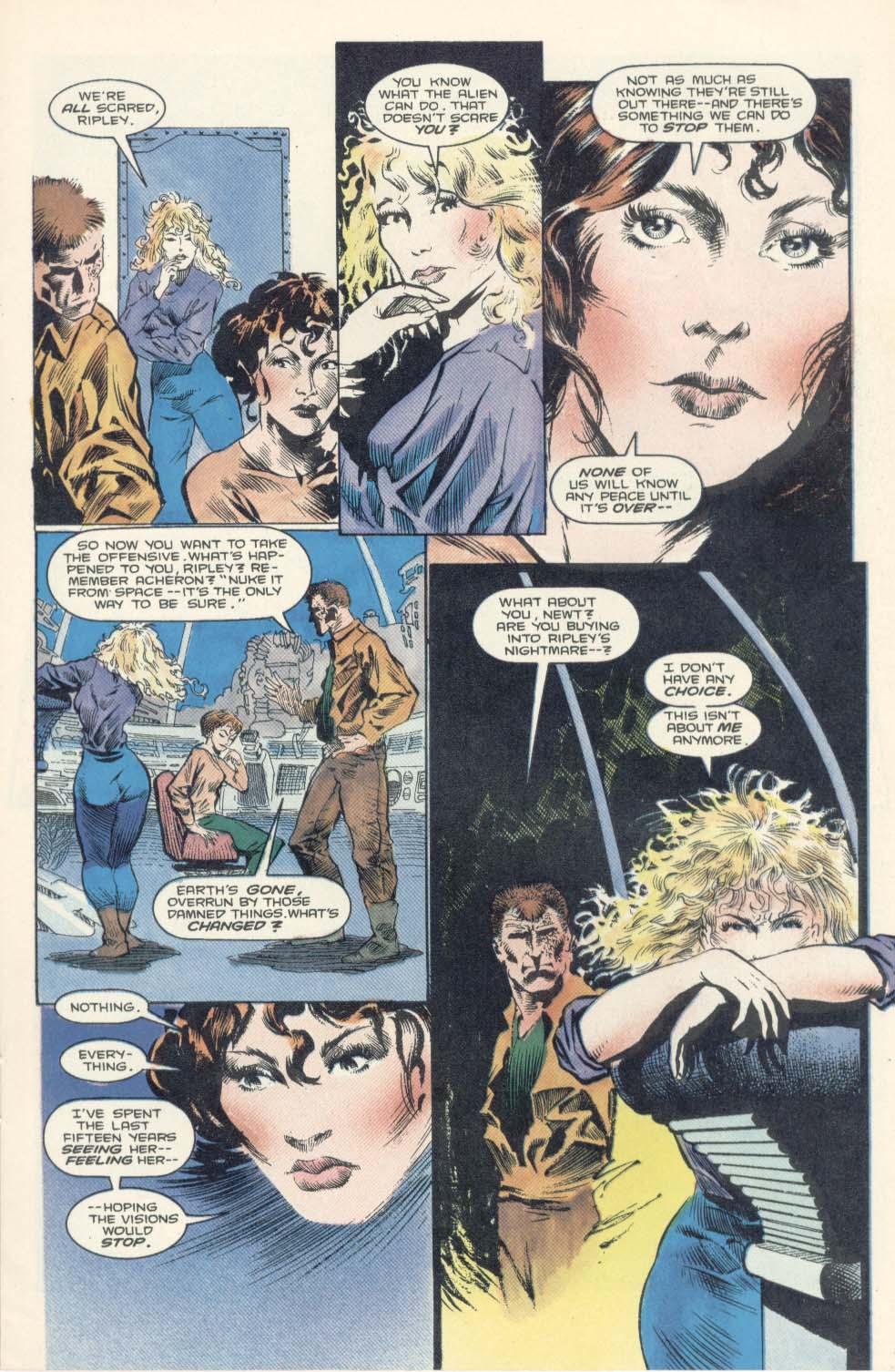 Read online Aliens: Earth War comic -  Issue #2 - 15