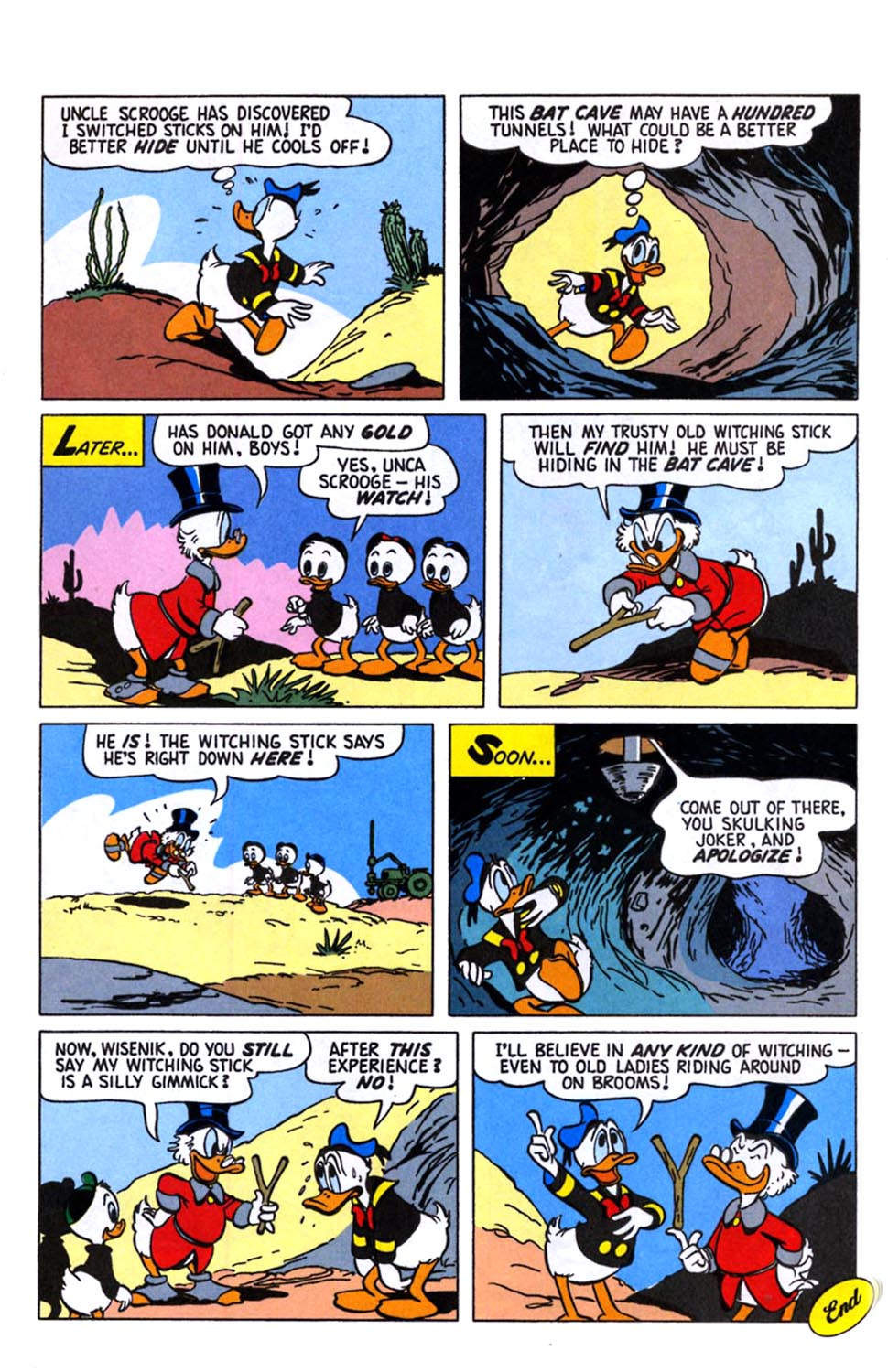 Read online Uncle Scrooge (1953) comic -  Issue #245 - 28