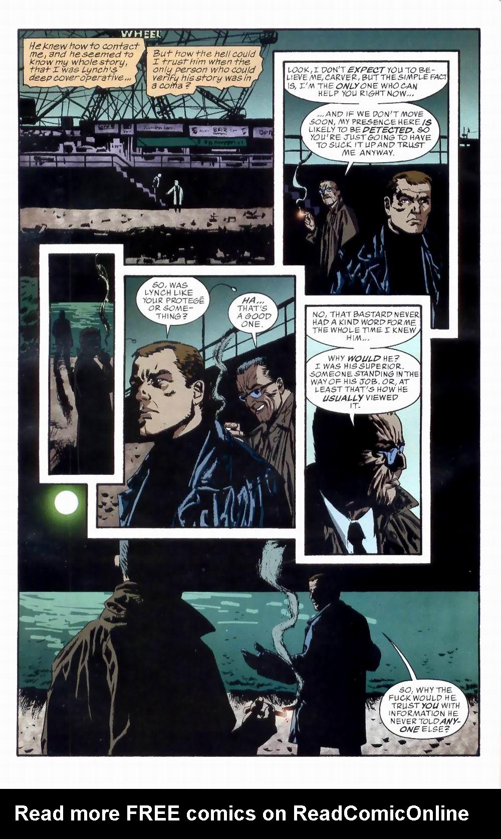 Read online Sleeper comic -  Issue #8 - 6