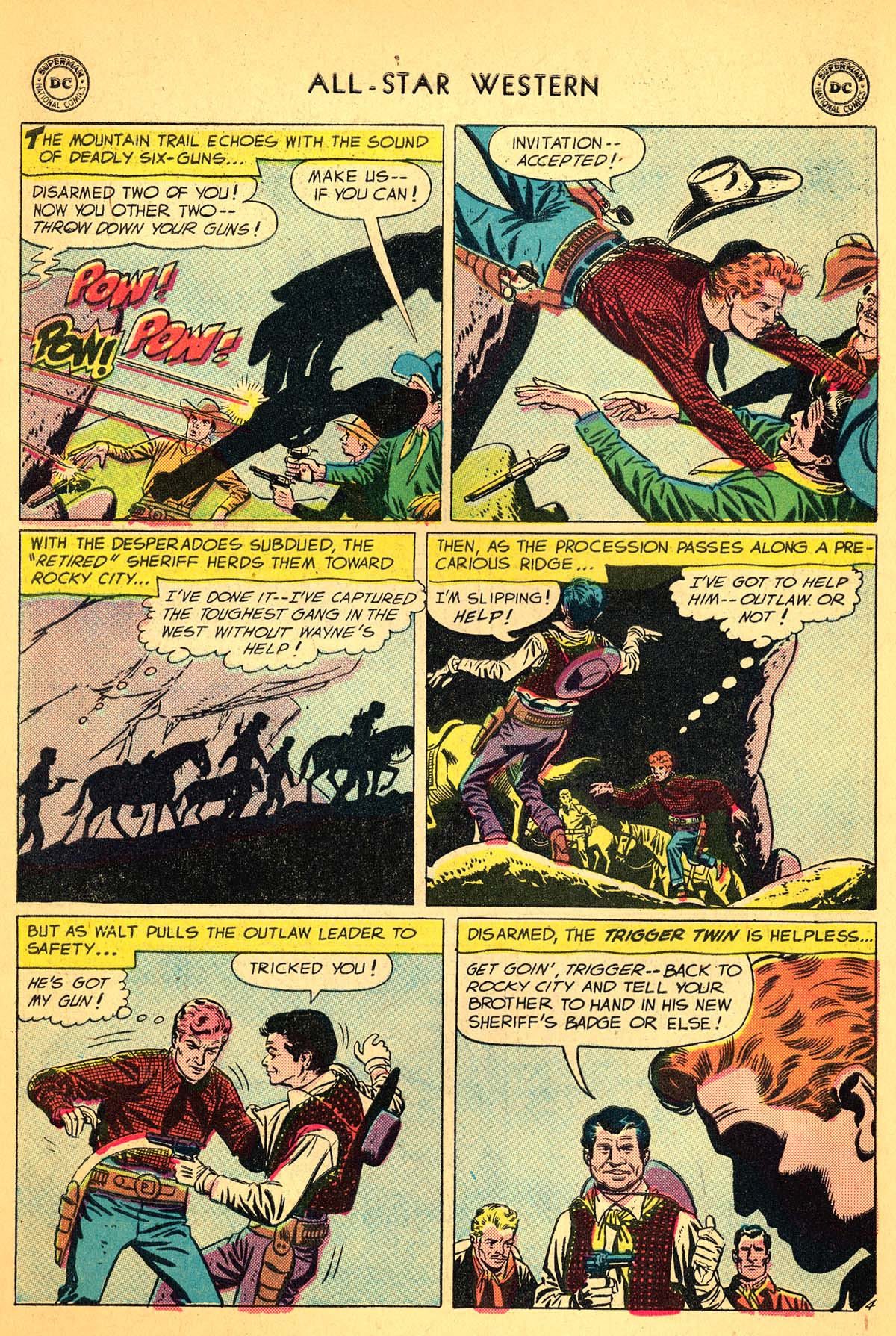 Read online All-Star Western (1951) comic -  Issue #99 - 6