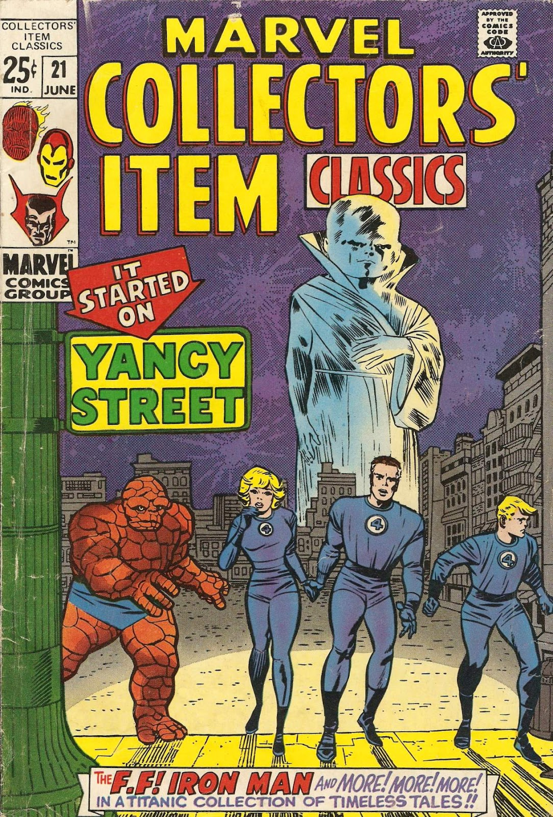 Marvel Collectors' Item Classics issue 21 - Page 1
