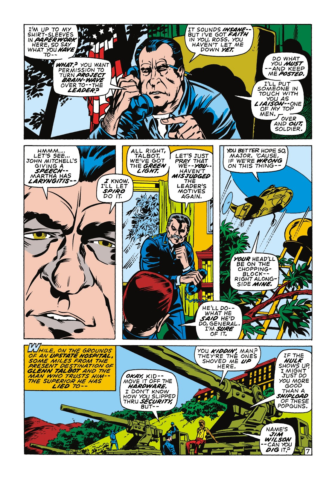 Read online Marvel Masterworks: The Incredible Hulk comic -  Issue # TPB 7 (Part 1) - 94