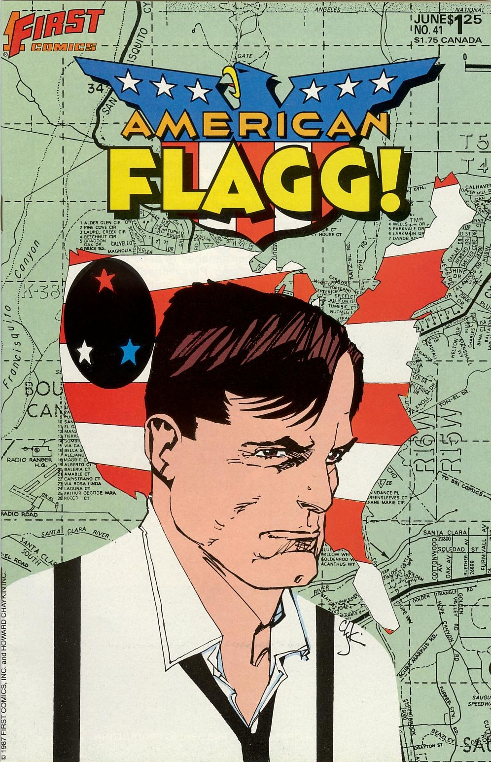 American Flagg! issue 41 - Page 1