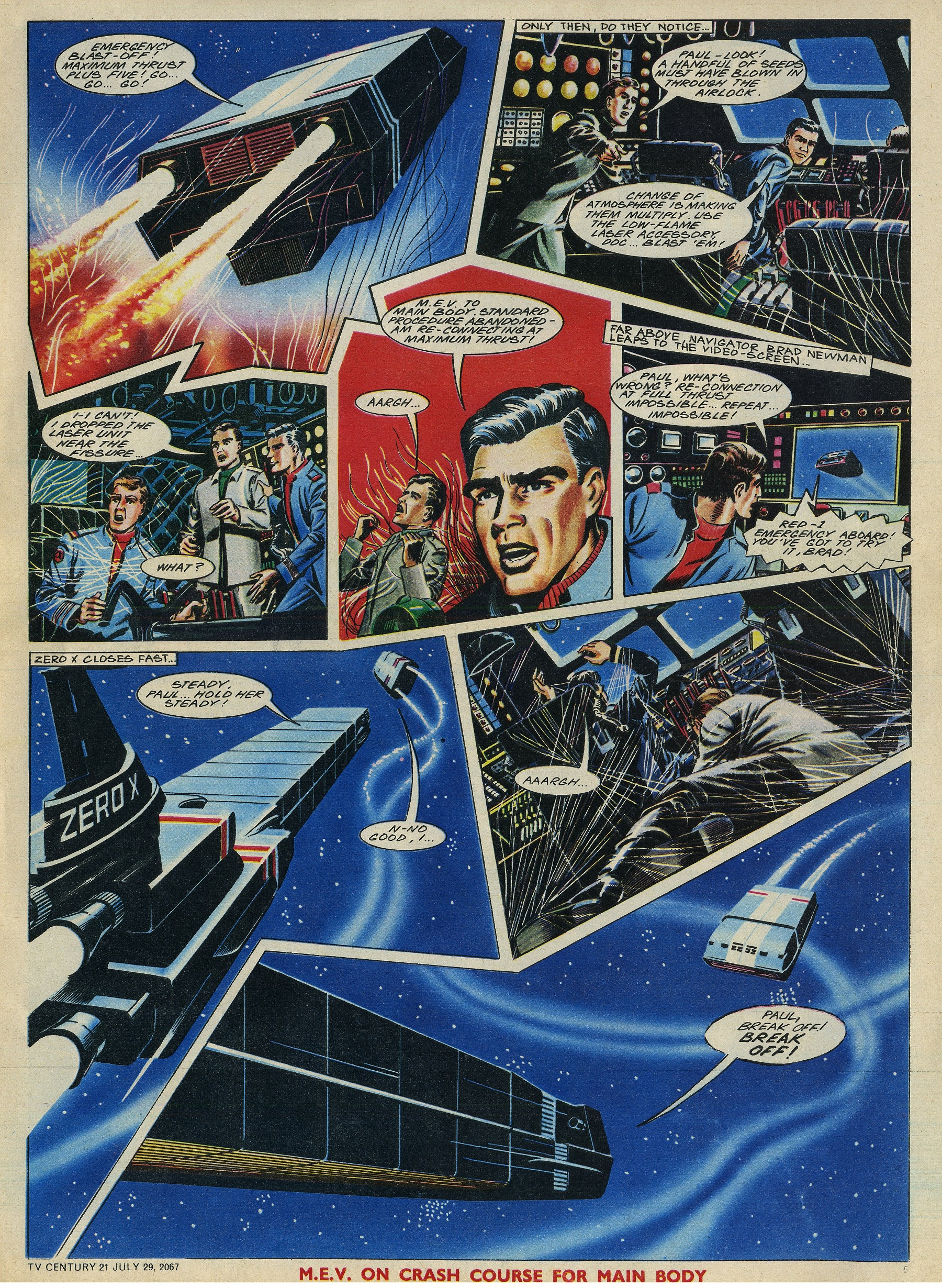 Read online TV Century 21 (TV 21) comic -  Issue #132 - 5