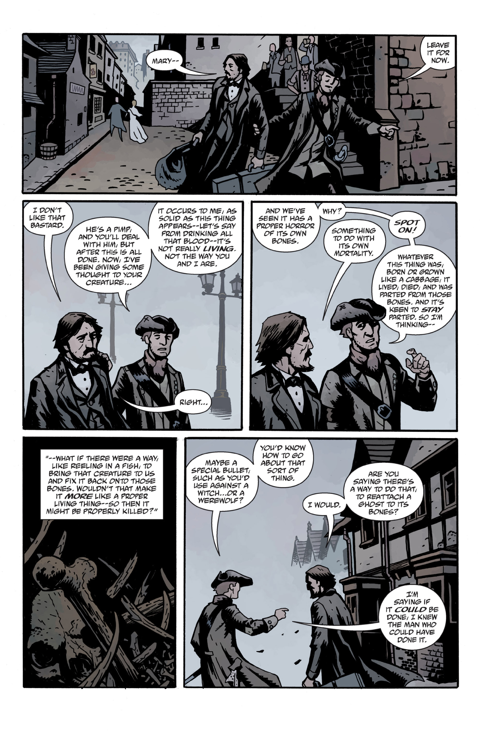 Read online Sir Edward Grey, Witchfinder: In the Service of Angels comic -  Issue # TPB - 97