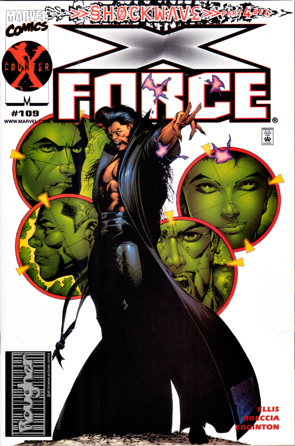 Read online X-Force (1991) comic -  Issue #109 - 1