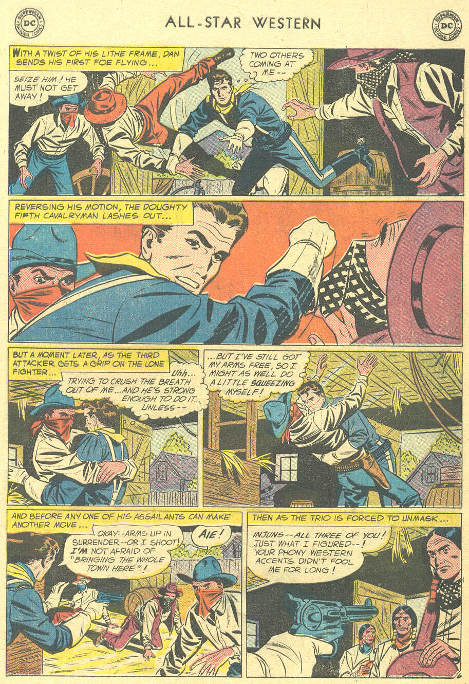 Read online All-Star Western (1951) comic -  Issue #105 - 21