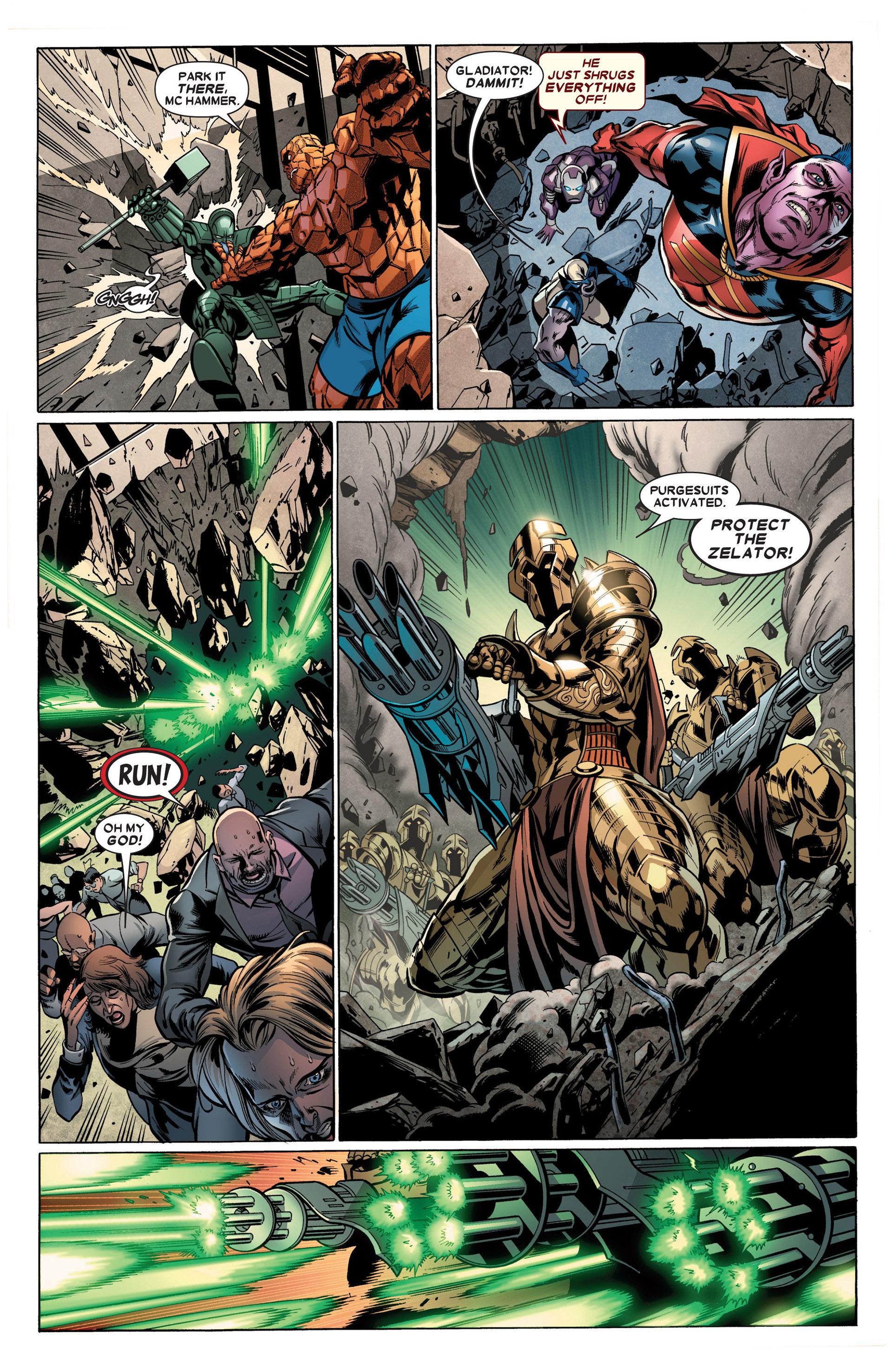 Read online Annihilators: Earthfall comic -  Issue #2 - 15
