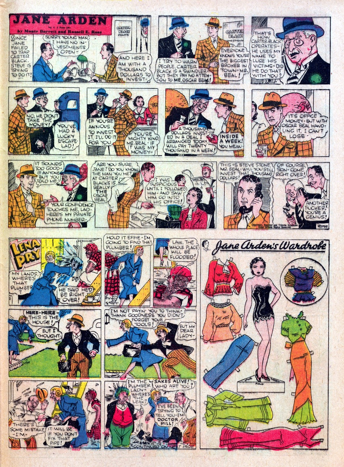 Read online Famous Funnies comic -  Issue #25 - 55