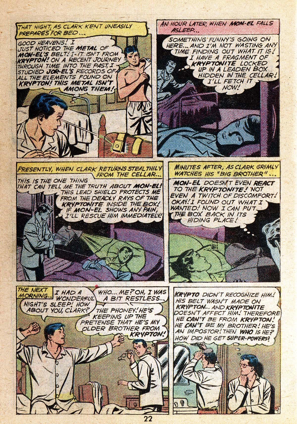 Read online Adventure Comics (1938) comic -  Issue #494 - 22