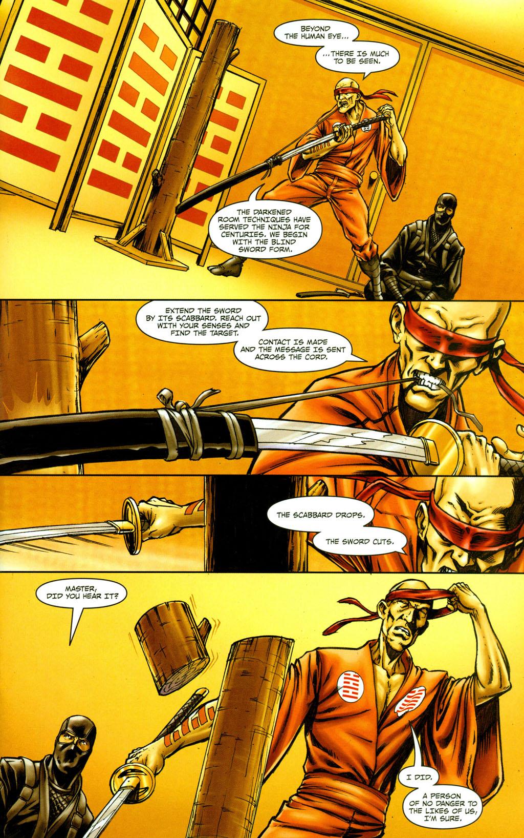 Read online Snake Eyes: Declassified comic -  Issue #5 - 9