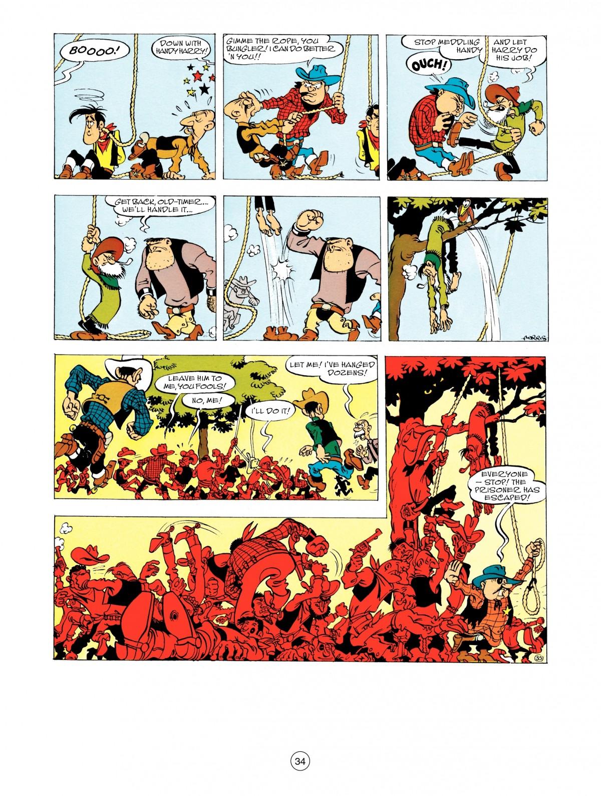 Read online A Lucky Luke Adventure comic -  Issue #48 - 34