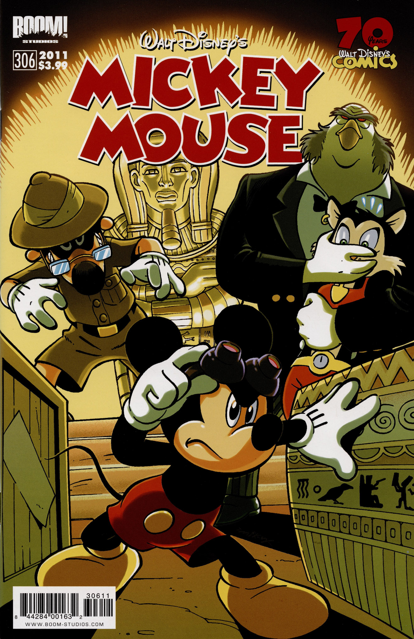 Read online Mickey Mouse (2011) comic -  Issue #306 - 1