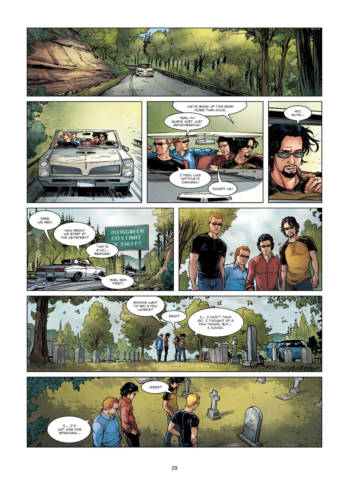 Read online Vigilantes comic -  Issue #3 - 29